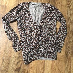3/$20 Old Navy - Leopard Animal Print Sweater